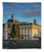 Musee D'orsay Evening Fleece Blanket