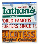 Nathan's Sign Fleece Blanket