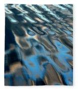 Natural Water Abstract Fleece Blanket