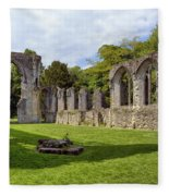 Netley Abbey Fleece Blanket