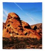 Nevada - Valley Of Fire Fleece Blanket