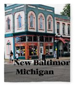 New Baltimore Michigan Fleece Blanket
