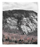 New Hampshire Mountain Fleece Blanket