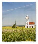 New London Range Rear Lighthouse Fleece Blanket