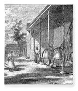 New York Bell Foundry Fleece Blanket