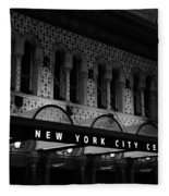 New York City Center Fleece Blanket