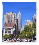 1-new York City Fleece Blanket
