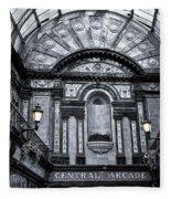 Newcastle Central Arcade Fleece Blanket