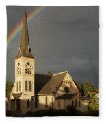 Newman United Methodist Church Fleece Blanket