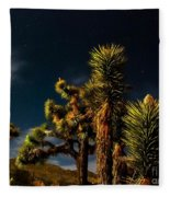 Night Desert Fleece Blanket