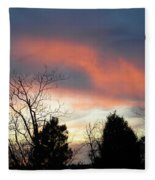 Night Falling Fleece Blanket