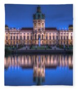 Night Palace  Fleece Blanket