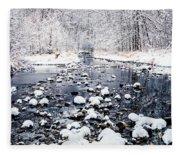 Nine Mile Creek Fleece Blanket