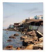 Nisyros Island Greece Fleece Blanket