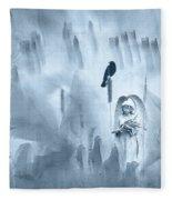 No More Turning Away Fleece Blanket