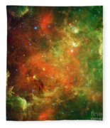 North America Nebula Fleece Blanket