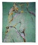 Nude IIi  Fleece Blanket