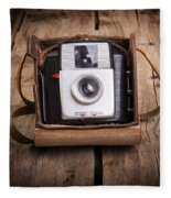 Old Camera Fleece Blanket