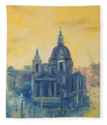 Old Warsaw  Fleece Blanket