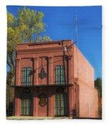 Oldest Masonic Lodge In California Fleece Blanket