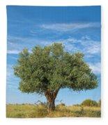 Olive Tree Fleece Blanket
