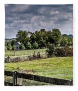 On The Farm Fleece Blanket
