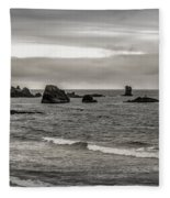 On The Rocks Fleece Blanket