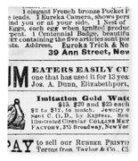 Opium Habit Cure, 1876 Fleece Blanket