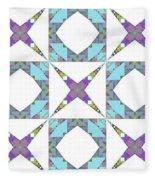 Ornament Xi Fleece Blanket