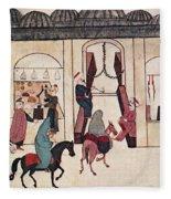 Ottoman Bazaar Fleece Blanket