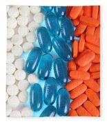 Pain Medication Fleece Blanket