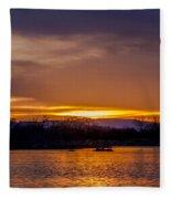 Palisade Sunset Fleece Blanket