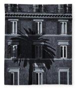 Palm Tree Fleece Blanket
