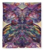 Papalotl Series 3 Fleece Blanket