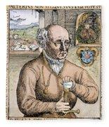 Paracelsus (1493-1541) Fleece Blanket
