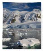 Paradise Bay, Antarctica Fleece Blanket