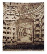 Paris Opera House Fleece Blanket
