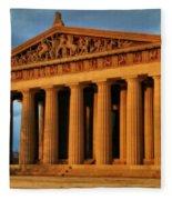 Parthenon Fleece Blanket