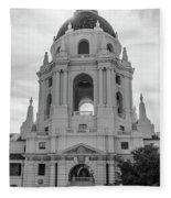 Pasadena City Hall, Pasadena California Fleece Blanket