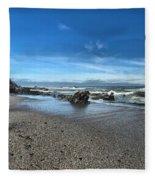 Patrick's Point Landscape Fleece Blanket