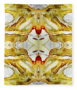 Patterns In Stone - 150 Fleece Blanket