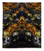 Patterns In Stone - 154 Fleece Blanket