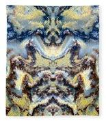 Patterns In Stone - 84 Fleece Blanket