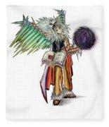 Pelusis God Of Law And Order Fleece Blanket