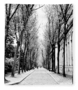 Pere-lachais Cemetery In Paris France Fleece Blanket