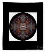 Personal Mandala Fleece Blanket
