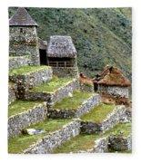 Peru: Machu Picchu Fleece Blanket