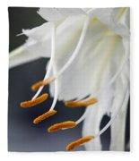 Peruvian Daffodil Named Advance Fleece Blanket