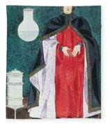Physician 16th Century Fleece Blanket