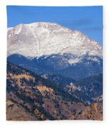 Pikes Peak Fleece Blanket